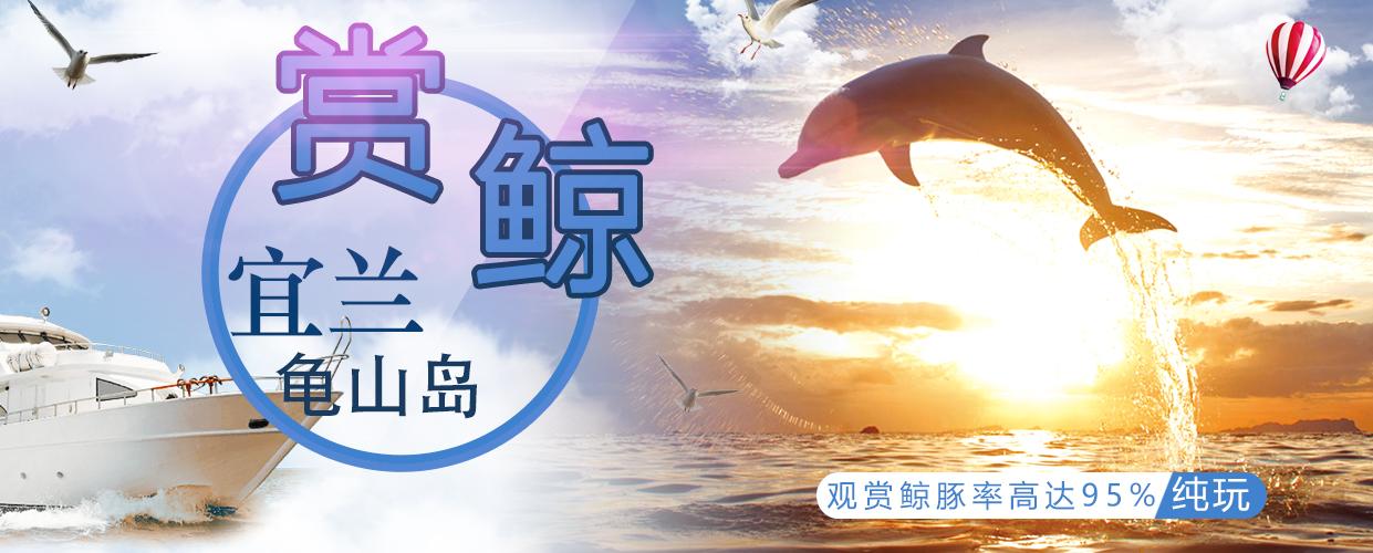 賞鯨宜蘭龜山島